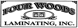 Four Woods Laminating Logo